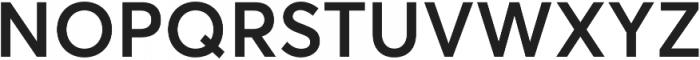 Averta Std Semibold otf (600) Font UPPERCASE