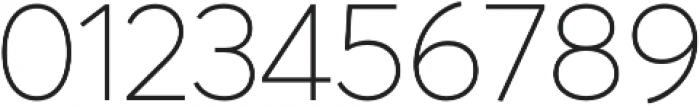 Averta Thin otf (100) Font OTHER CHARS