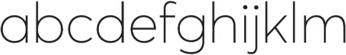 Averta Thin otf (100) Font LOWERCASE
