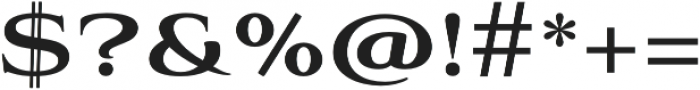 Aviano Bold otf (700) Font OTHER CHARS