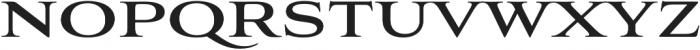 Aviano Bold otf (700) Font UPPERCASE