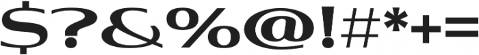 Aviano Contrast Black otf (900) Font OTHER CHARS