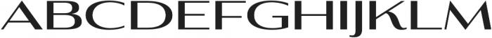 Aviano Contrast Bold otf (700) Font UPPERCASE