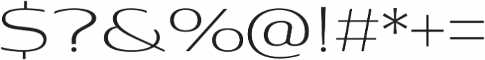 Aviano Contrast Light otf (300) Font OTHER CHARS