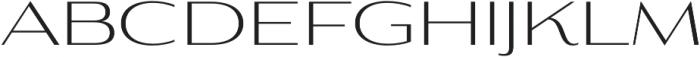 Aviano Contrast Light otf (300) Font LOWERCASE