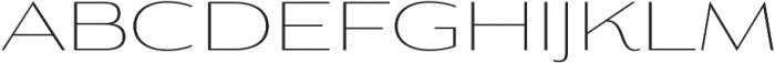Aviano Contrast Thin otf (100) Font LOWERCASE
