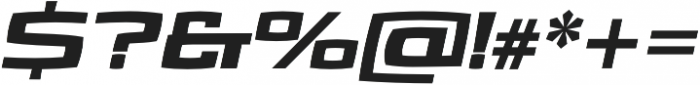 Aviano Future Black Fast otf (900) Font OTHER CHARS