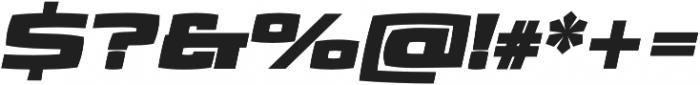 Aviano Future Heavy Fast otf (800) Font OTHER CHARS