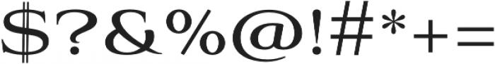 Aviano Regular otf (400) Font OTHER CHARS
