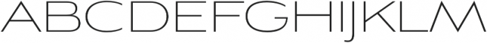 Aviano Sans Thin otf (100) Font UPPERCASE