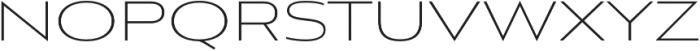 Aviano Sans Thin otf (100) Font LOWERCASE