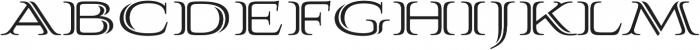 Aviano Silk Bold otf (700) Font UPPERCASE