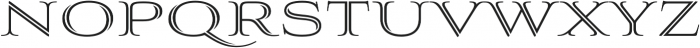 Aviano Silk Regular otf (400) Font UPPERCASE