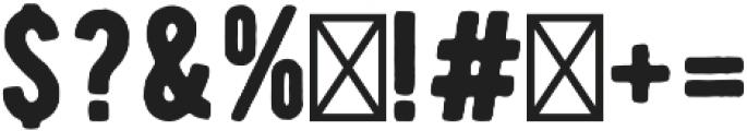 Aviator Sans otf (400) Font OTHER CHARS