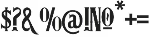 Avigo VMF otf (400) Font OTHER CHARS