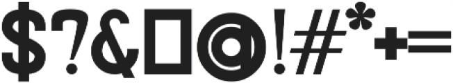 Avocet Bold otf (700) Font OTHER CHARS