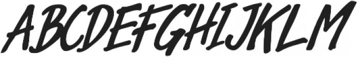 Avondale Italic otf (400) Font UPPERCASE