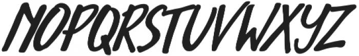 Avondale Italic otf (400) Font LOWERCASE