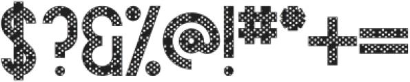 Avoqado Dots otf (400) Font OTHER CHARS