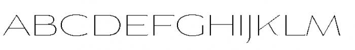 Aviano Flare Thin Font LOWERCASE