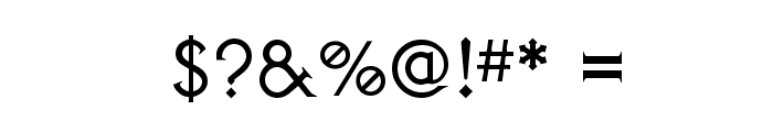AvalonQuest Font OTHER CHARS