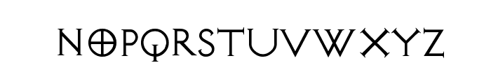 AvalonQuest Font LOWERCASE