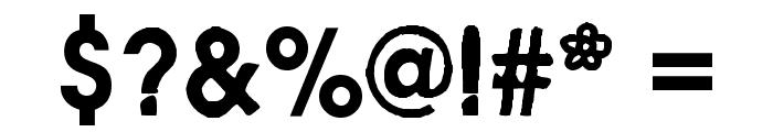 Avant Garden 2042 Regular Font OTHER CHARS