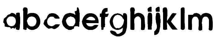 Avant Garden 2042 Regular Font LOWERCASE