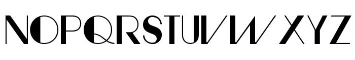 AvantRetroBold Font UPPERCASE