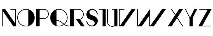 AvantRetroBold Font LOWERCASE