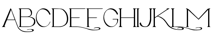 Avanti Serif Regular Font UPPERCASE