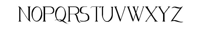 Avanti Serif Regular Font LOWERCASE