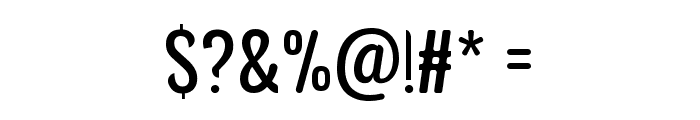 Avatarock Font OTHER CHARS