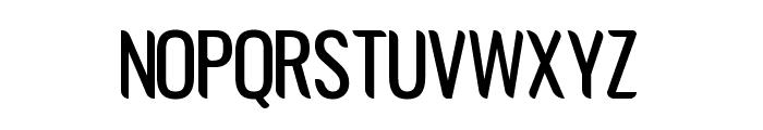 Avatarock Font UPPERCASE