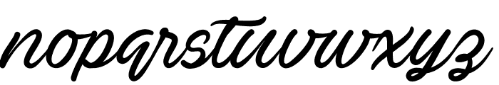Ave Betwan PERSONAL USE ONLY Font LOWERCASE