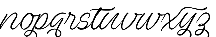 Ave Utan PERSONAL USE ONLY Font LOWERCASE