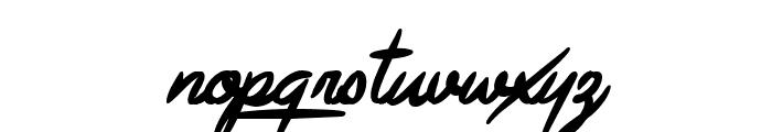 Avelana Bold Ital PERSONAL USE Font LOWERCASE