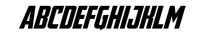 Avengeance Font LOWERCASE