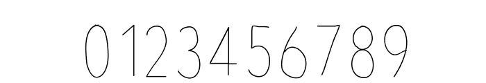 AvenirCondensedHand Font OTHER CHARS