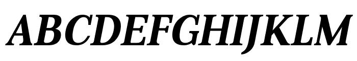 Aver Bold Italic Font UPPERCASE