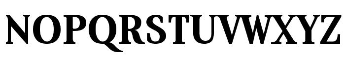 Aver Bold Font UPPERCASE