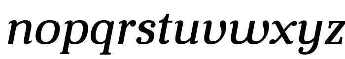 Aver Italic Font LOWERCASE