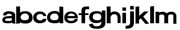 Average Custom Level 2 Regular Font LOWERCASE