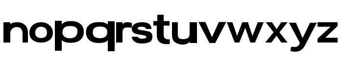 Average Custom Regular Font LOWERCASE