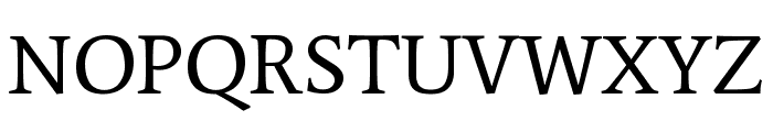 Average Regular Font UPPERCASE