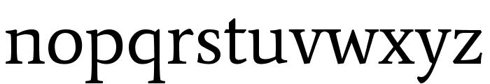 Average Regular Font LOWERCASE