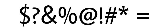Average Sans Font OTHER CHARS