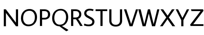 Average Sans Font UPPERCASE