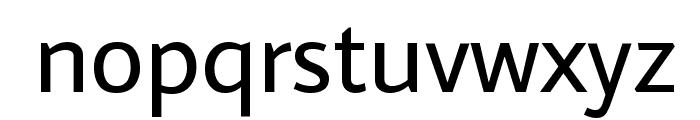 Average Sans Font LOWERCASE