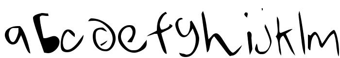 Averen Font LOWERCASE